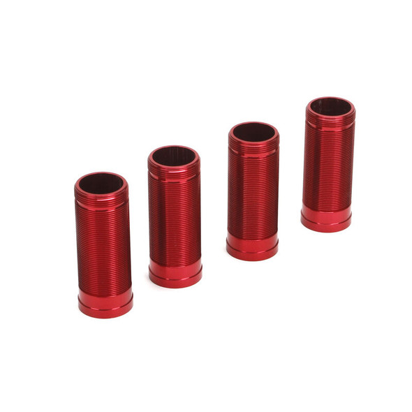 Losi LOS243000 Shock Body Set Red (4) : LST XXL/2