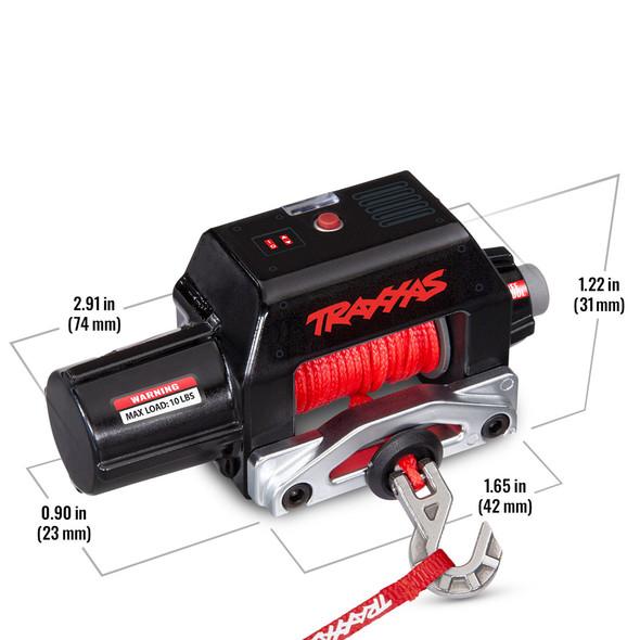 Traxxas 8855 Pro Scale Winch w/ Wireless Remote Control : TRX-4 / TRX-6