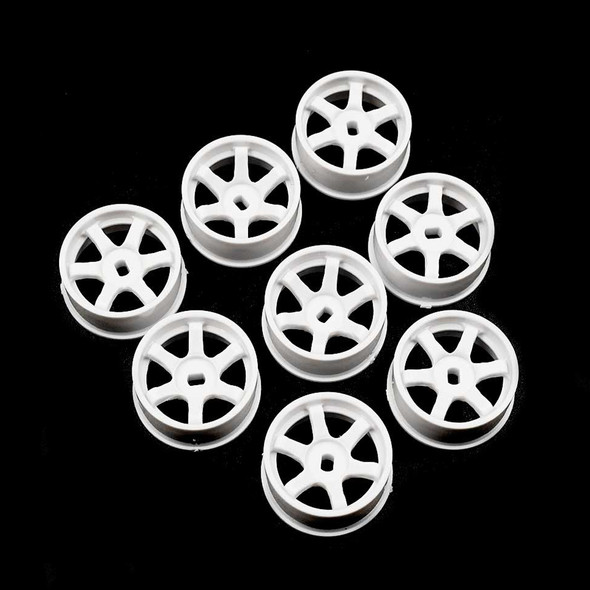 Yeah Racing WL-0145WH Plastic Front Rim Set Offset 0+1+2+3 White : Mini-Z MA-020