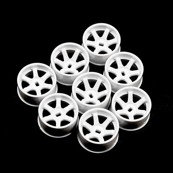 Yeah Racing WL-0146WH Plastic Rear Rim Set Offset 0+1+2+3 White : Mini-Z MA-020