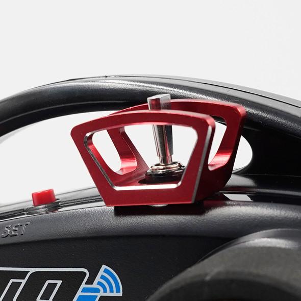 Yeah Racing YA-0619RD Aluminum Diff Lock Switch Protector Red : Traxxas TQi Radio