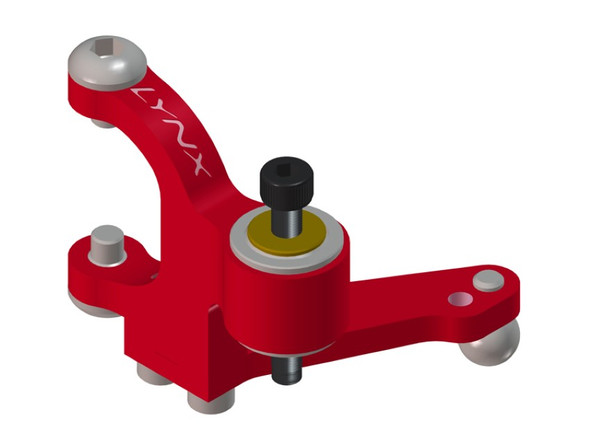Lynx LX0603 Blade 300X Precision Tail Bell Crank Lever Red Devil Edition