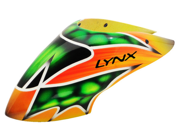Lynx LX130X002 Blade 130X Air Brushed Fiber Glass Canopy TDR Style Color Schema #02