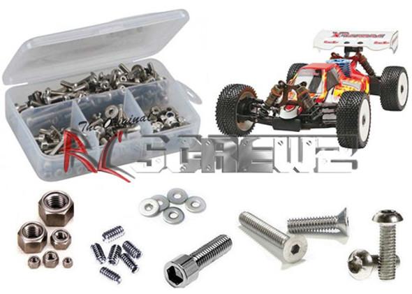 RC Screwz Stainless Steel Screw Kit X3 Sabre RTR/PRO 1/8 OFN007