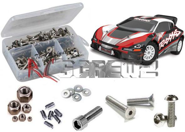 RC Screwz Stainless Steel Screw Kit 1/10 Rally RTR TRA049