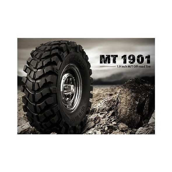 """Gmade 1.9"""" MT1901 Off-road Tires (2) GM70164"""