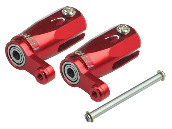 Microheli Main Blade Grip w/ Thrust Bearing/Steel Shaft (R) T-REX 150 DFC