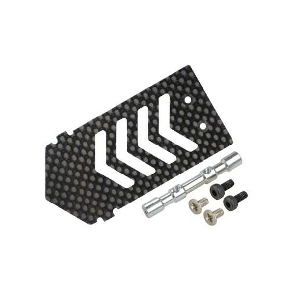 Microheli Aluminum/Carbon Fiber ESC Mount w/ Tray Support BLADE 300X / 300 X