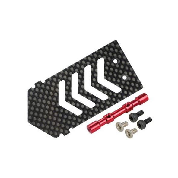 Microheli Aluminum/Carbon Fiber ESC Mount w/ Tray Support (R) BLADE 300X / 300 X