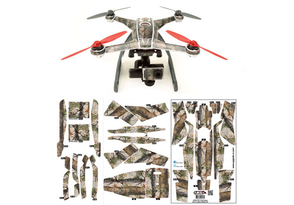 Upgrade RC UPG7116 Blade 350 QX2 AP Hyper Skin Tree Camouflage