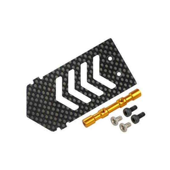 Microheli Aluminum/Carbon Fiber ESC Mount w/ Tray Support (G) BLADE 300X / 300 X