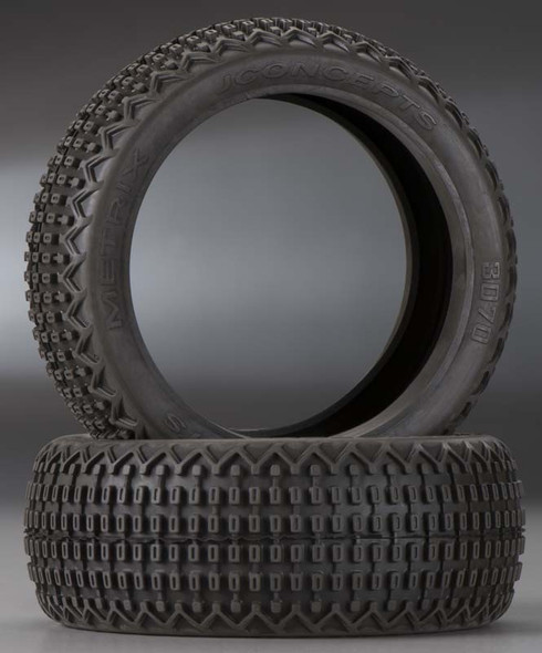 JConcepts 3070-00 Metrix 1/8 Buggy Tires Yellow (2)
