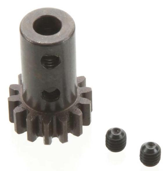 Tekno R/C TKR4154 Long Shank Pinion 14T Mod 1.5mm Bore Hard Steel
