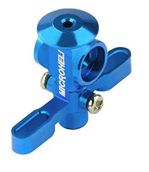 Microheli BLADE Nano CP X Aluminum Main Rotor Hub w/ Button Blue CPX nCPX nCP X