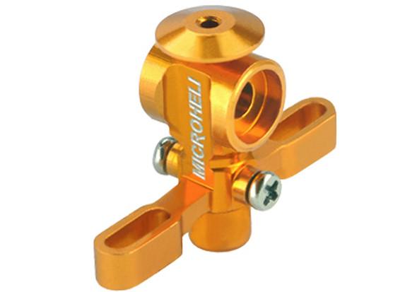 Microheli BLADE Nano CP X Aluminum Main Rotor Hub w/ Button (GOLD) NCPX CPX