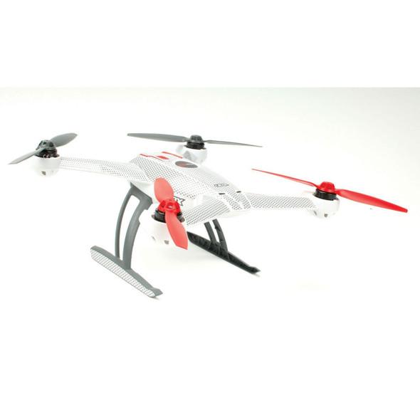 Upgrade-RC UPG7113 White Carbon Skin Blade 350 QX
