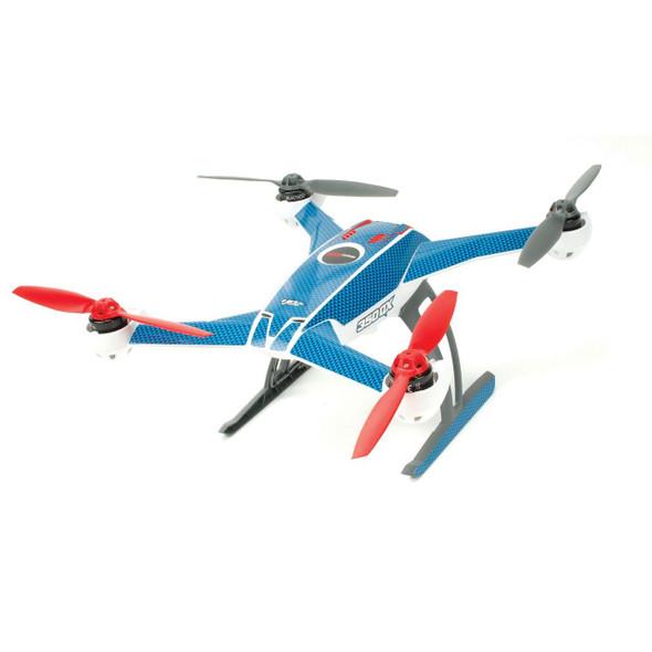 Upgrade-RC UPG7111 Blue Carbon Skin Blade 350 QX