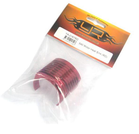 Yeah Racing YA-0167RD 540 Motor Heat Sink Red
