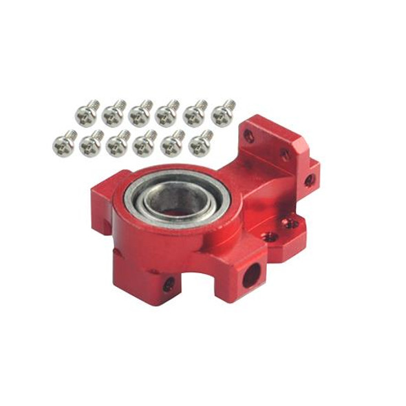 Microheli Aluminum Main Bearing Hub (RED) (for MH Frame T-REX 150 DFC)