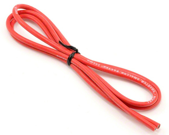 "Tekin 12awg Silicon Power Wire 36"" Red TT3012"