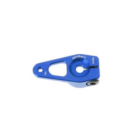 Secraft Blue Anodized Aluminum V2 Hitec 15mm Servo Arm