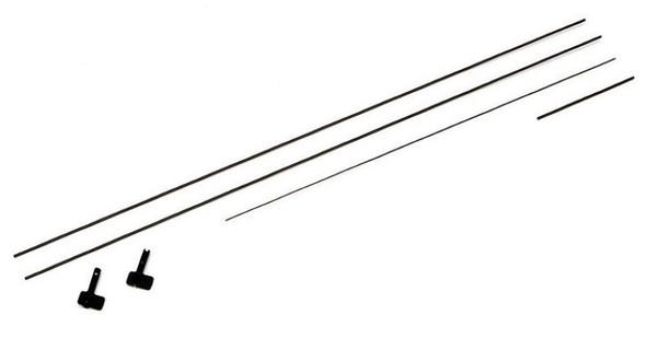 ParkZone PKZU1306 Carbon Rod Set: Ultra Micro Mosquito Mk VI