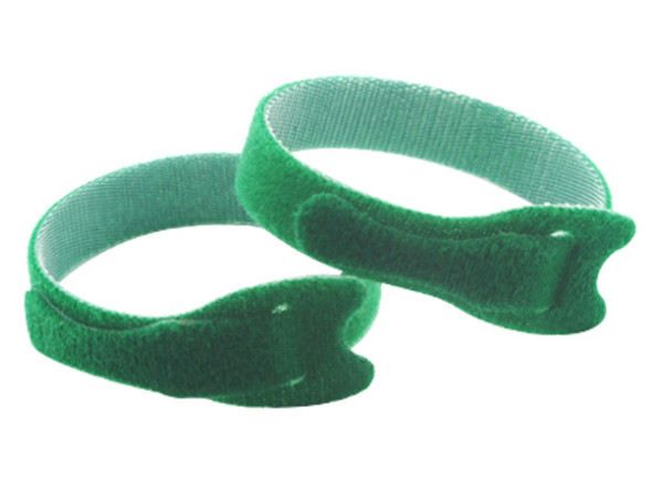 Microheli Double Sided Velcro Strap 200x12mm 2PC GREEN