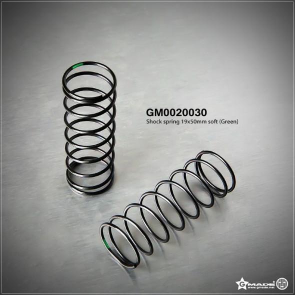 Gmade GM0020030 Shock Spring 19x50mm Soft Green (2)