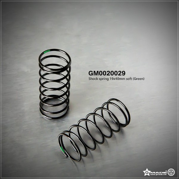Gmade GM0020029 Shock Spring 19x40mm Soft Green (2)