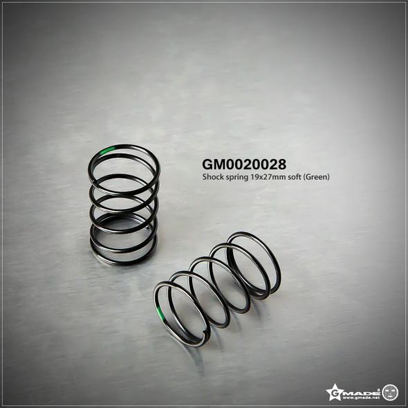 Gmade GM0020028 Shock Spring 19x27mm Soft Green (2)