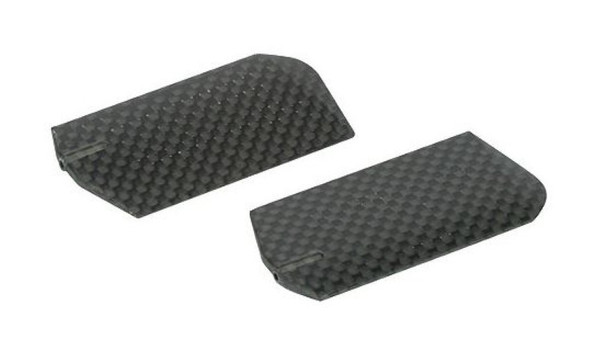 Blade EFLH1429C 3D Flybar Paddle Set w/Weights Carbon Fiber Blade 400