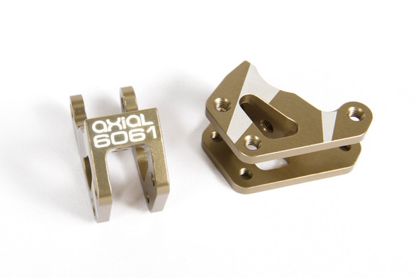 Axial AX31433 AR60 Machined Link Mounts Hard Anodzied (2)