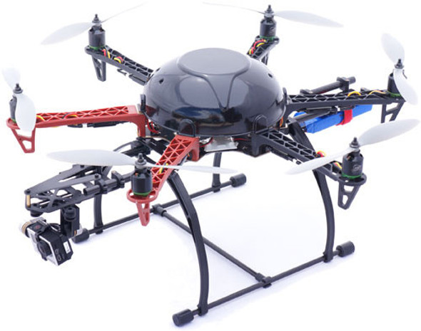 PHOTOSHIP ONE MULTIROTOR LANDING GEAR CAMERA/BATTERY MOUNT SYSTEM F450/F550