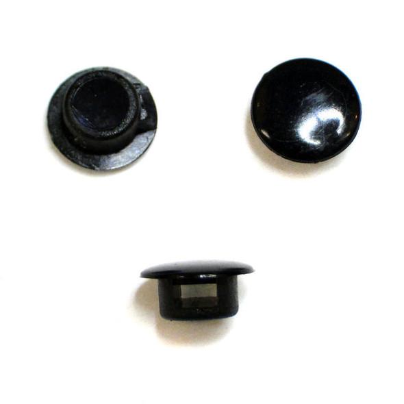 RC Lights RCL79811 Black Tie Caps with Zip Ties (12 )