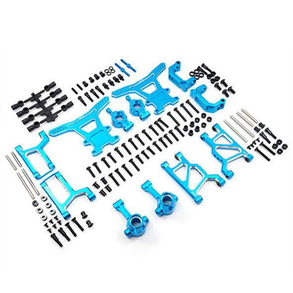 Yeah Racing Aluminium Long-Span Suspension Arms & Knuckles Performance Kit