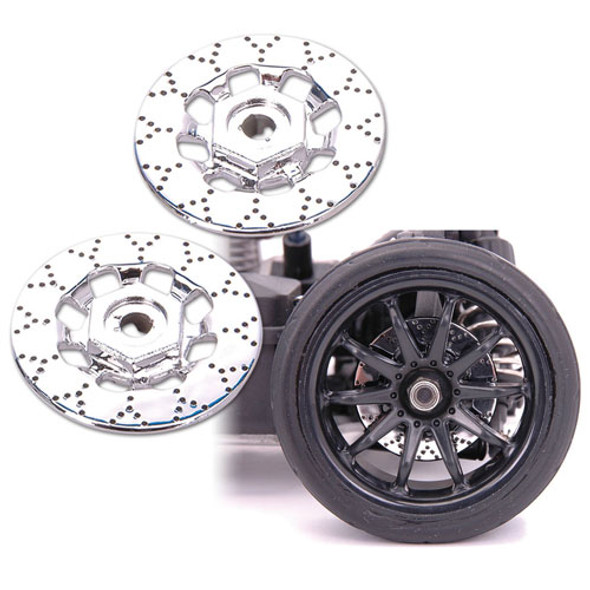 Yeah Racing 1/10 EP Touring Brake Disc Kit 30mm/4pcs + 32mm/4pcs + 38mm/4pcs