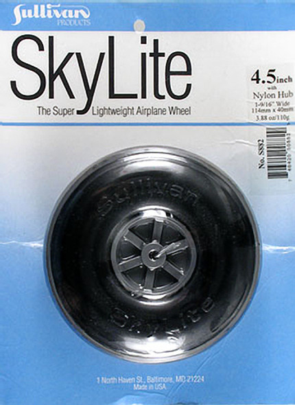 "Sullivan S882 SkyLite Wheel 4-1/2"" (1) Airplane"