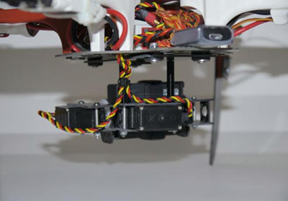PhantoMounts X2 Carbon Fiber Assembled 2 Axis Gimbal w/Servos DJI Flamewheels