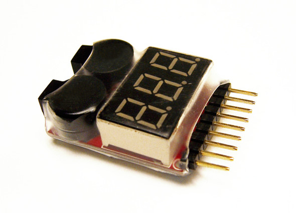 Lectron Pro Cell Spy Alarm - 8S Audio Voltage Tester