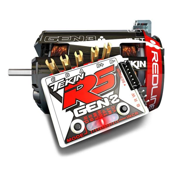 Tekin TT2731 Gen3 Brushless Sensored 21.5T Motor & RS Gen2 Brushless ESC