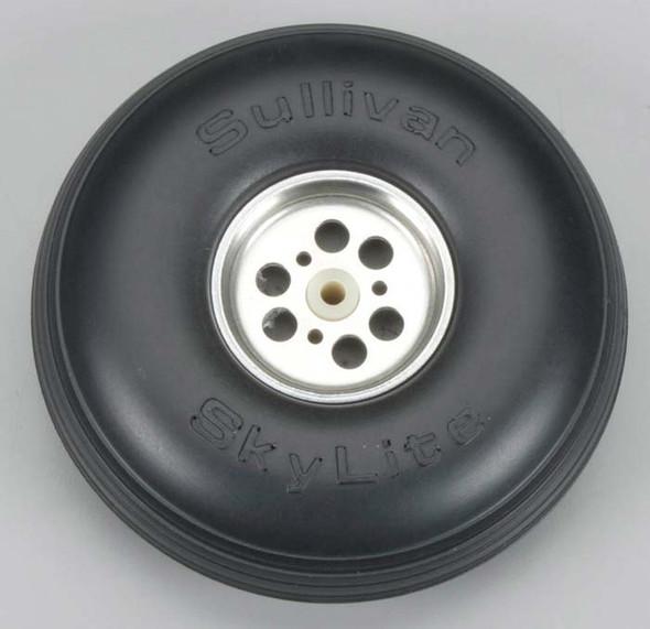 "Sullivan S853 SkyLite Wheel w/Aluminum Hub 4-1/2"" (1) Airplane"
