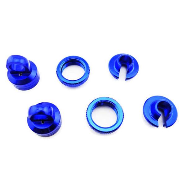 Hot Racing YET15606 Aluminum 10mm Shock Upgrade Kit Blue Yeti /Wraith /AX10 /EXO