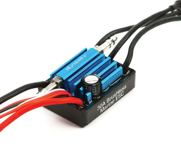 Dynamite 30A Brushless Marine ESC / Electronic Speed Control 2-3S DYNM3860