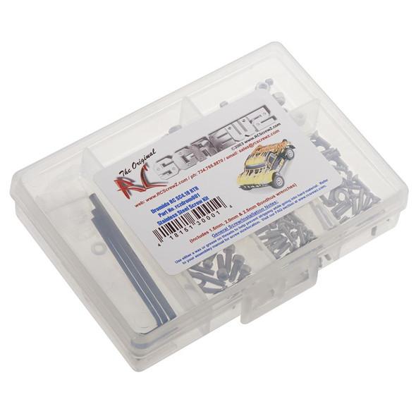 RC Screwz DROM001 Stainless Steel Screw Kit Dromida SC4.18 RTR
