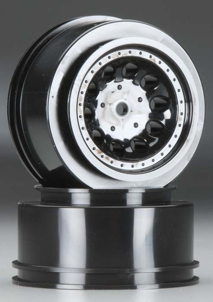 RPM 82332 Revolver Wheels / Rims Black For Traxxas Nitro Slash