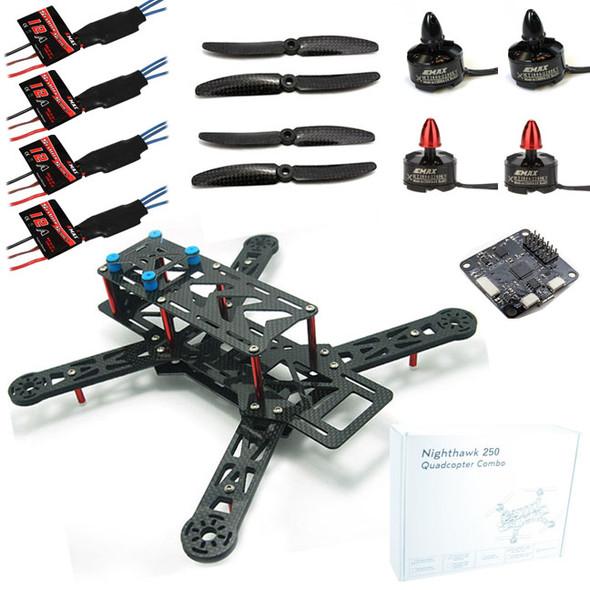 Emax Night Hawk 250 Quadcopter Frame w/ Motors / ESC / Props / Flight Controller