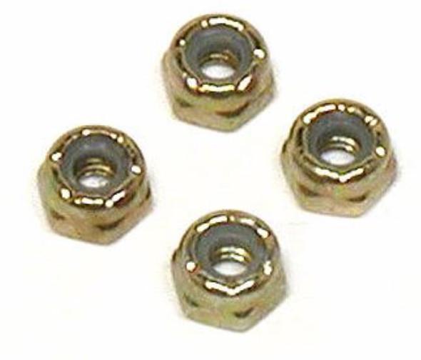 Losi LOSA6302 5-40 Locking Nuts,Steel: 10-T / Ten-T