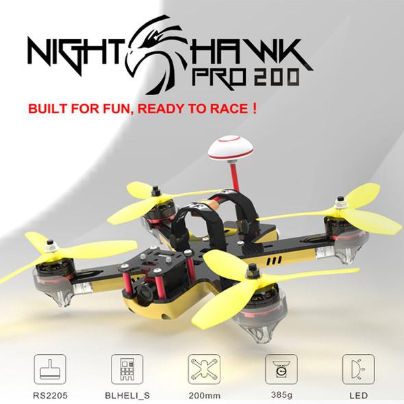 EMAX Nighthawk Pro 200 PNP 200mm F3 FPV Racing Drone 600TVL CCD Camera