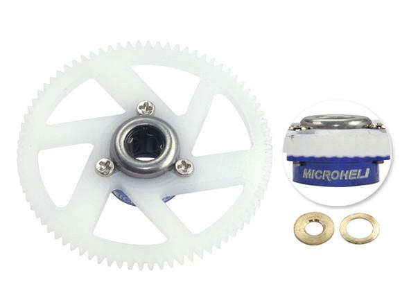 Microheli Main Gear w/ Auto-Rotation Hub set (BLUE/PURPLE) T-REX 150 DFC