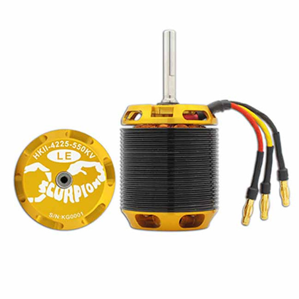 Scorpion HKII-4225-550KV Limited Edition Brushless Motor : 600 Class Helicopter